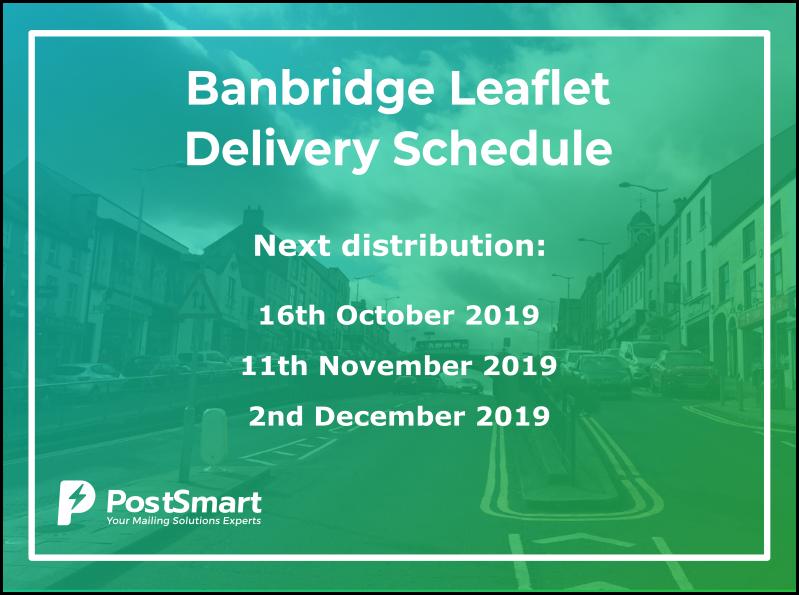 PostSmart Banbridge Delivery Schedule